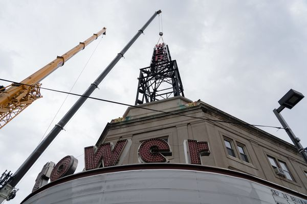Tower Theater's iconic tower is coming down due to safety fears