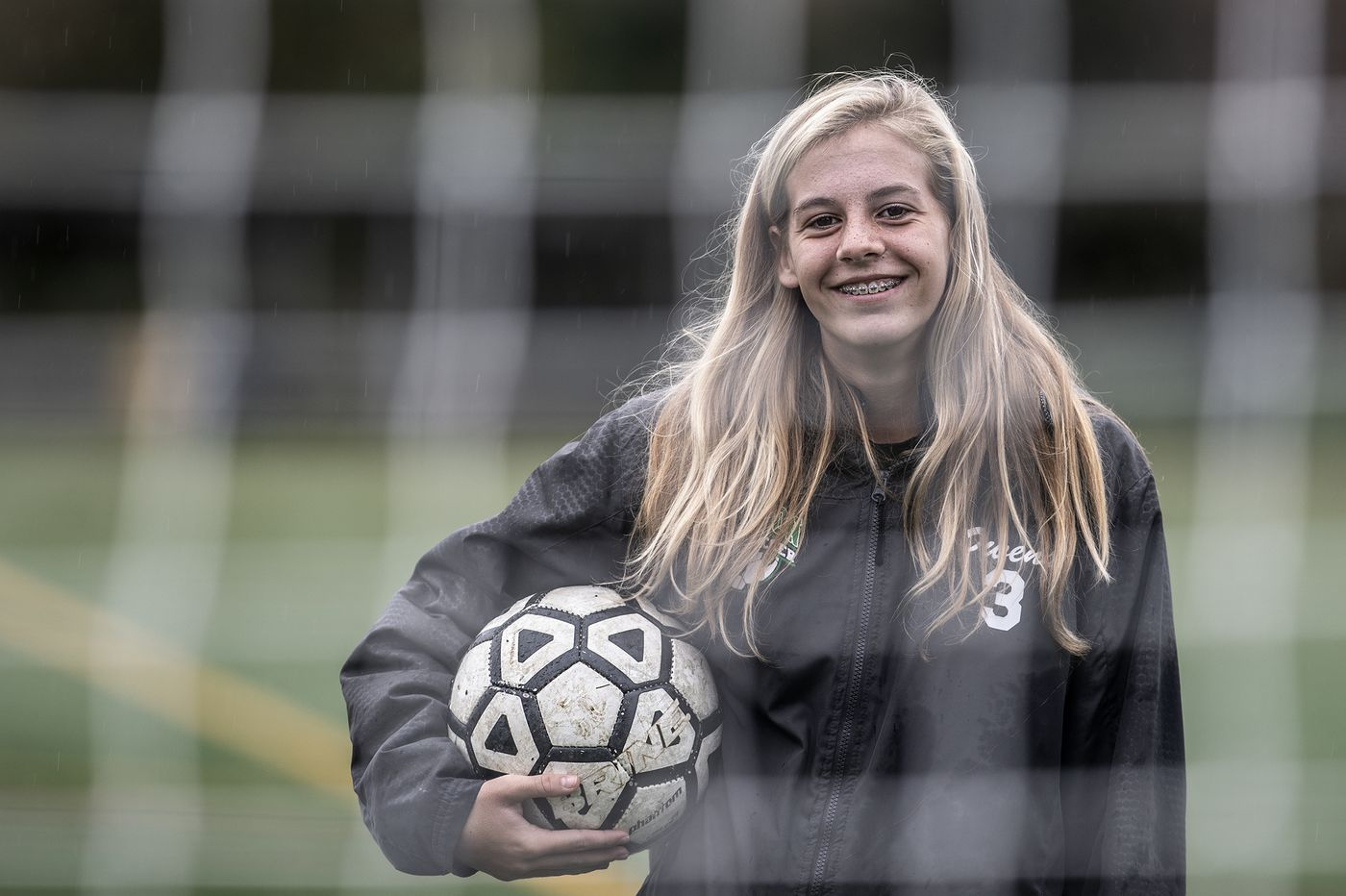 Defeat is the only pain that hinders Emily Owens and Audubon girls' soccer