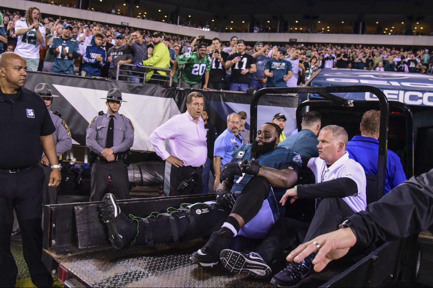Eagles survive loss of Jason Peters. Can they for the season?