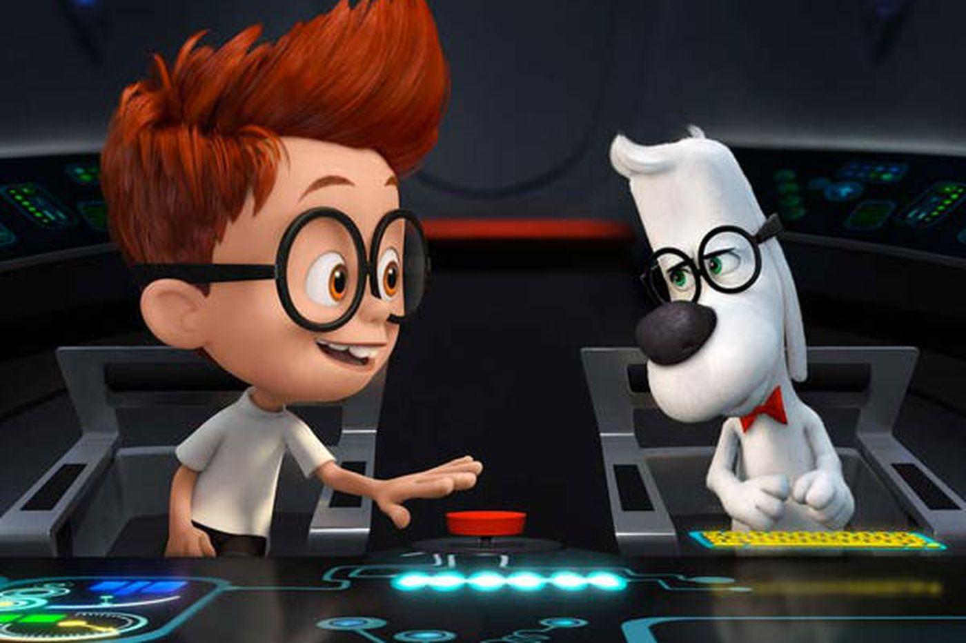 'Mr. Peabody & Sherman': A dog and his boy go way-back