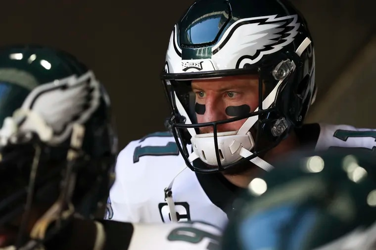 Carson Wentz isn't interested in sticking around Philly next season and serving as Jalen Hurts' backup.