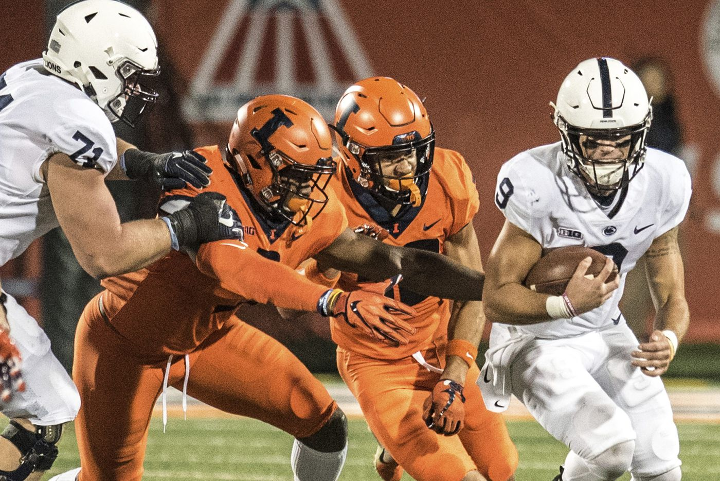 Penn State explodes in second half, downs Illinois