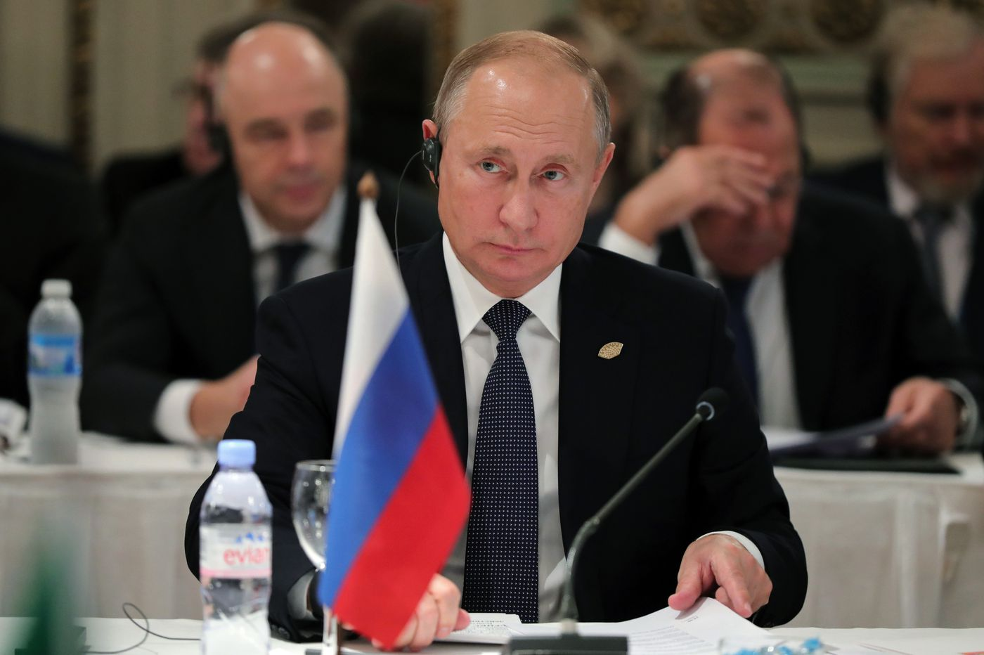 In the Middle East, Vladimir Putin is putting Russia back on the map