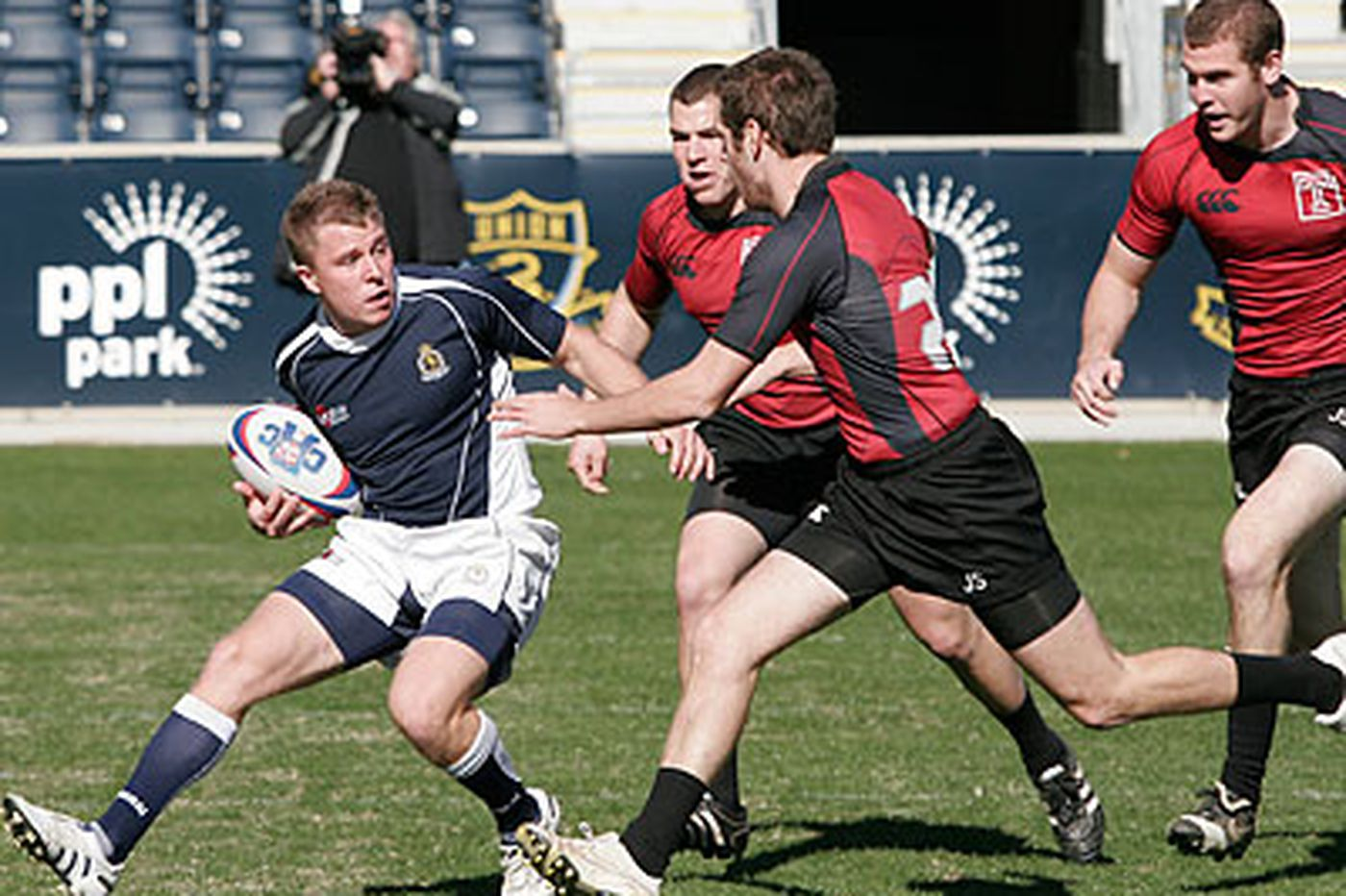 Once ragtag, Temple rugby players playing with pride