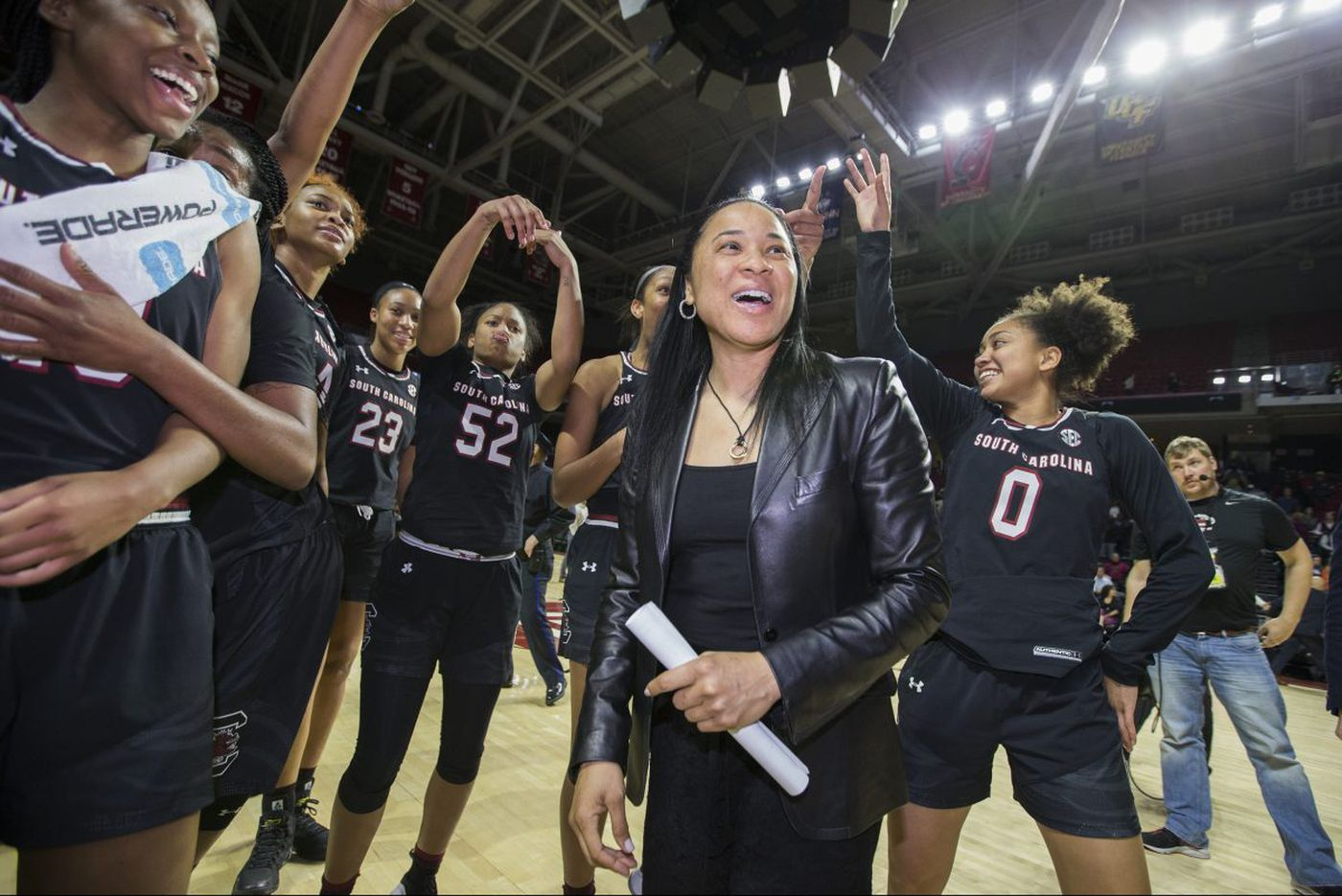 Dawn Staley's Gamecocks give her a pleasant homecoming