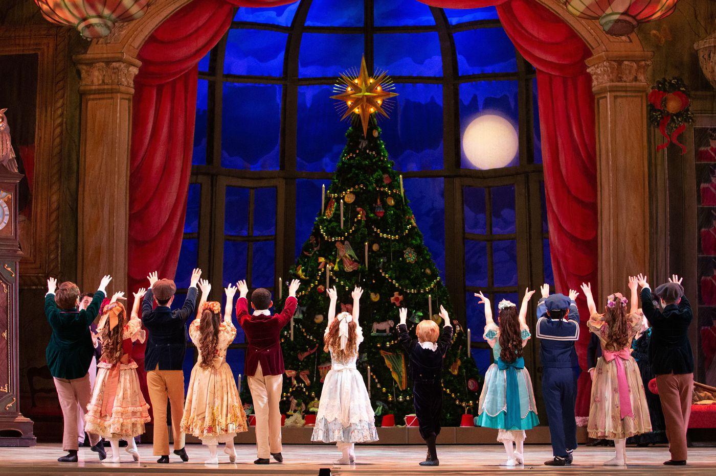 Pennsylvania Ballet's 'Nutcracker' enchants with snow, Sugar Plum, and a sparkling new tree
