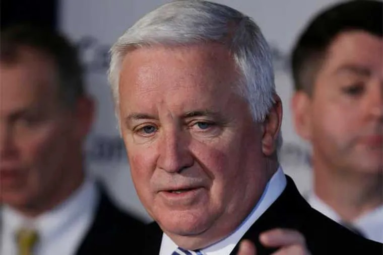 Gov. Tom Corbett wants you to gamble and drink, just a little more, until it helps - the state treasury.