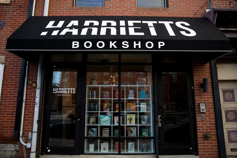 Harrietts Bookshop in Fishtown Philadelphia, can be found along Girard Avenue featuring books and artwork from women authors, artists and activists on Friday, Feb. 7, 2020.