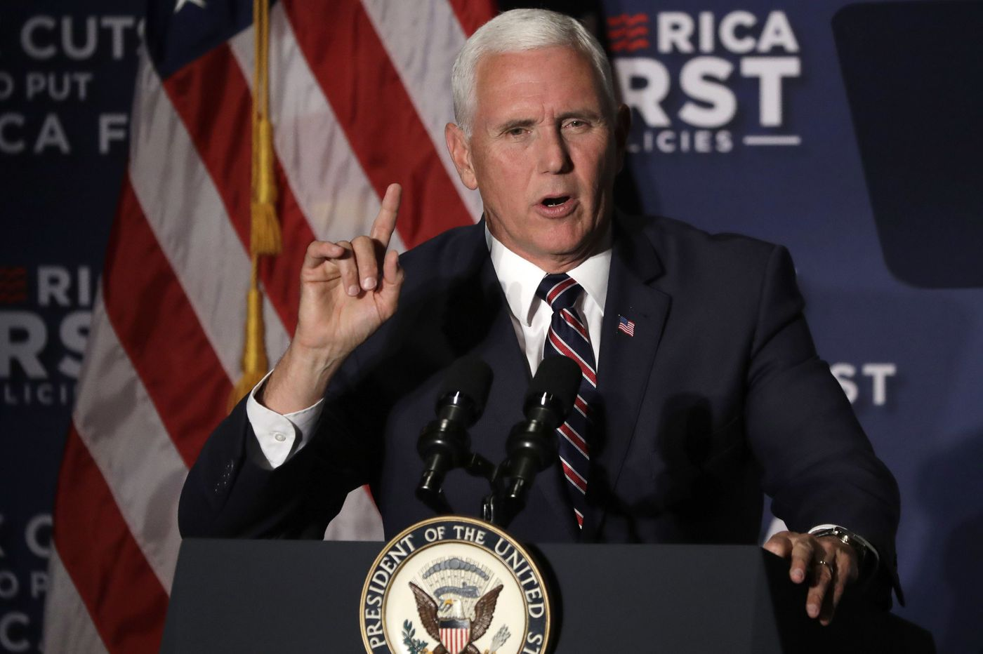 VP Mike Pence to visit Philly Monday to promote GOP's Lou Barletta, tax cuts
