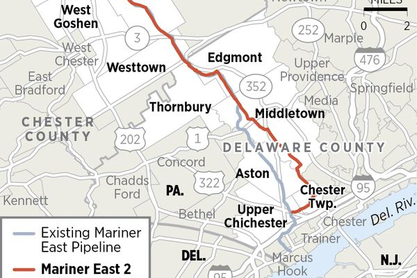 Mariner East pipeline target of possible Chester County Commission legal action