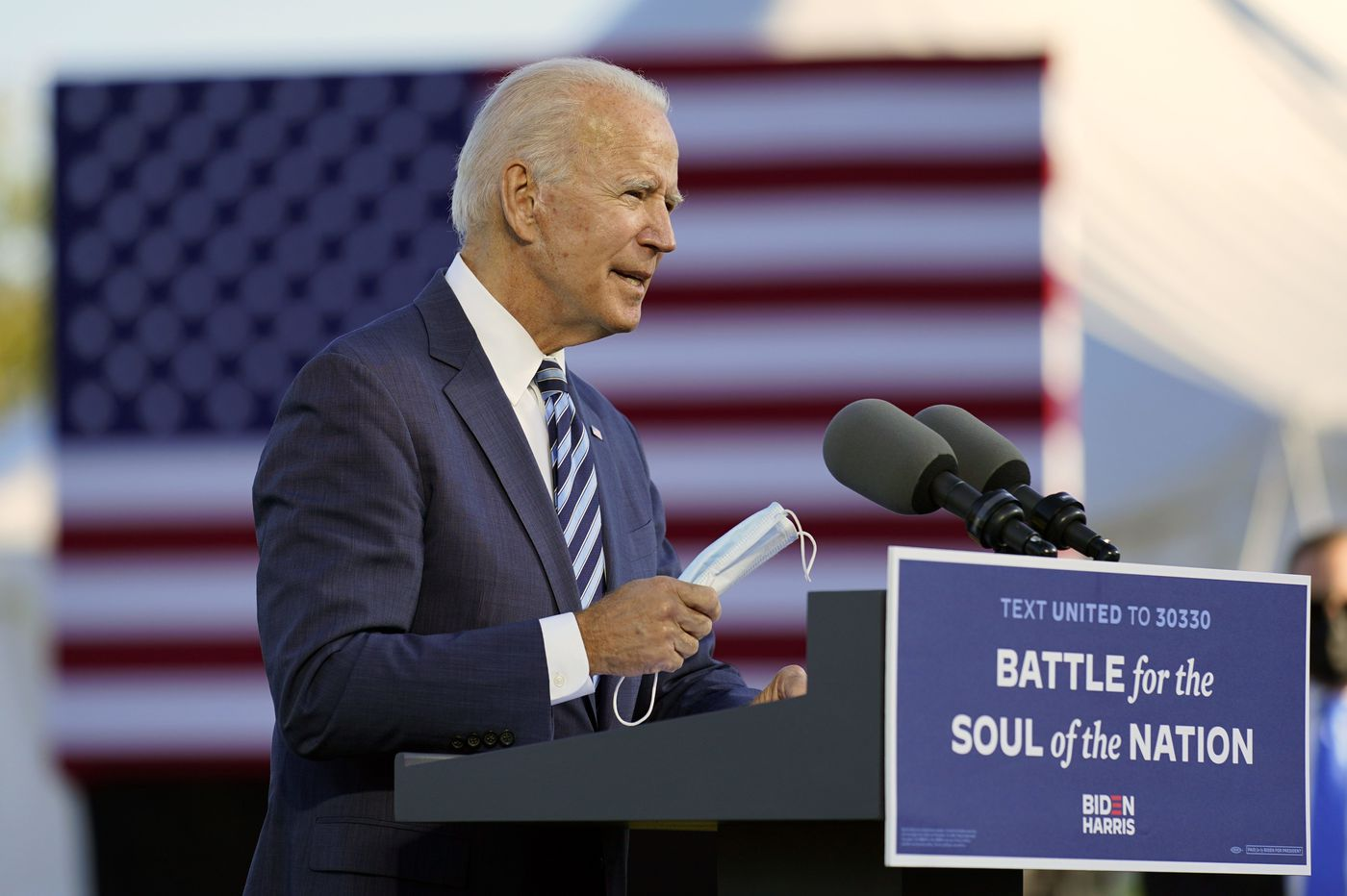 Biden in Gettysburg: 'Once again, we are a house divided'