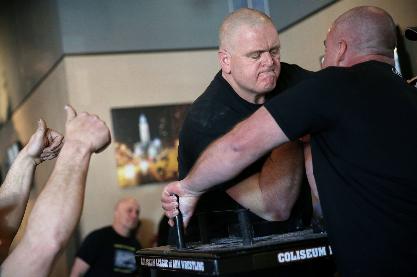 Can 'Steve the Animal' beat 'Bill the Beast?' Arm-wrestling star makes comeback to aid kids