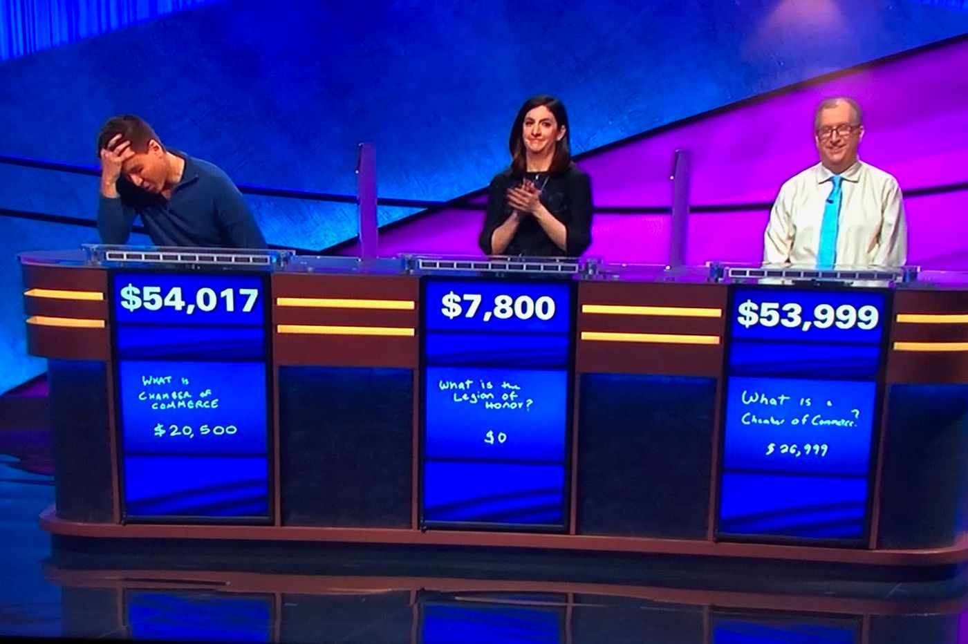 'Jeopardy!' champ James Holzhauer defeats Philly native by just $18