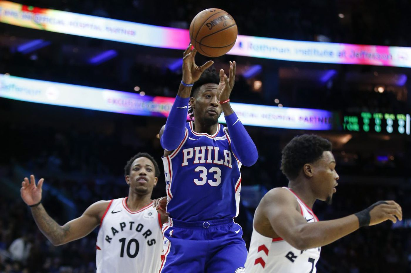 Maybe the Sixers need a more passive Robert Covington | David Murphy
