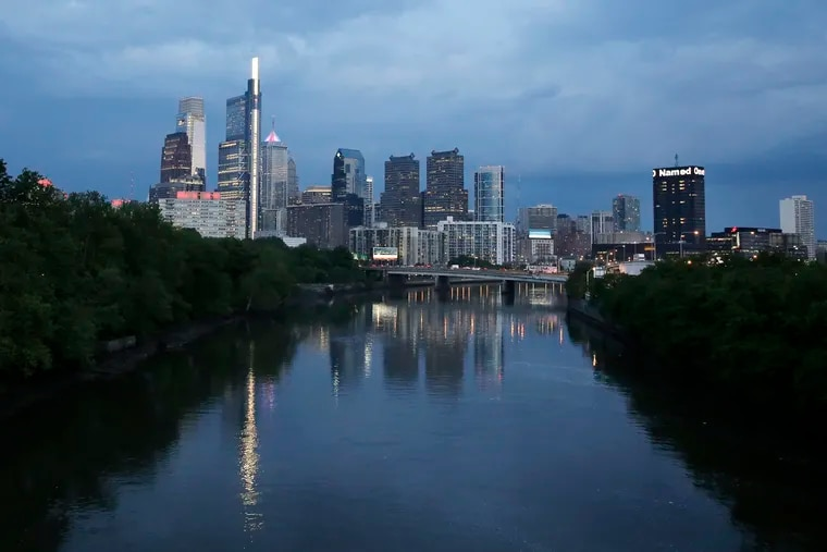 A view of the Philadelphia skyline from the Spring Garden St. bridge. San Antonio, Texas, is projected to surpass Philadelphia in population by 2021.
