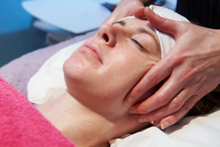 This salt facial available at in Sewell New Jersey's Agless Skin and Laser Center is the ultimate splurge for that special woman in your life