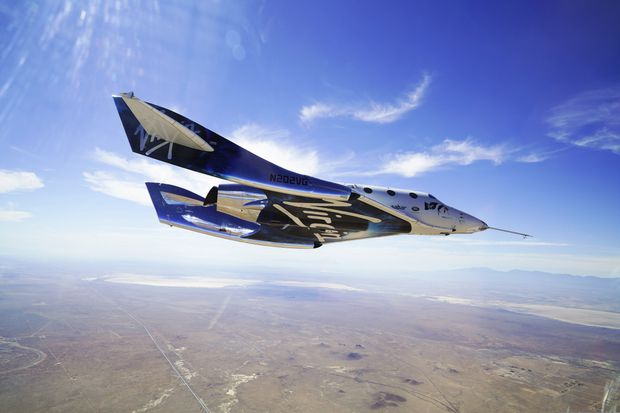 Virgin Galactic rocket ship reaches space in test flight