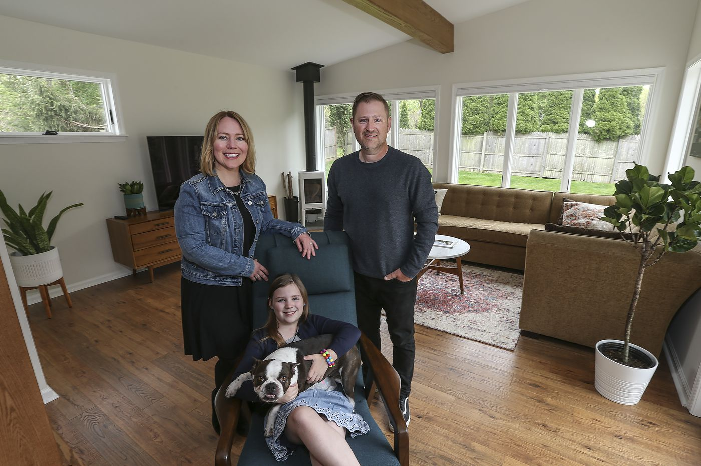 For this family, staying put and adding on made more sense than moving