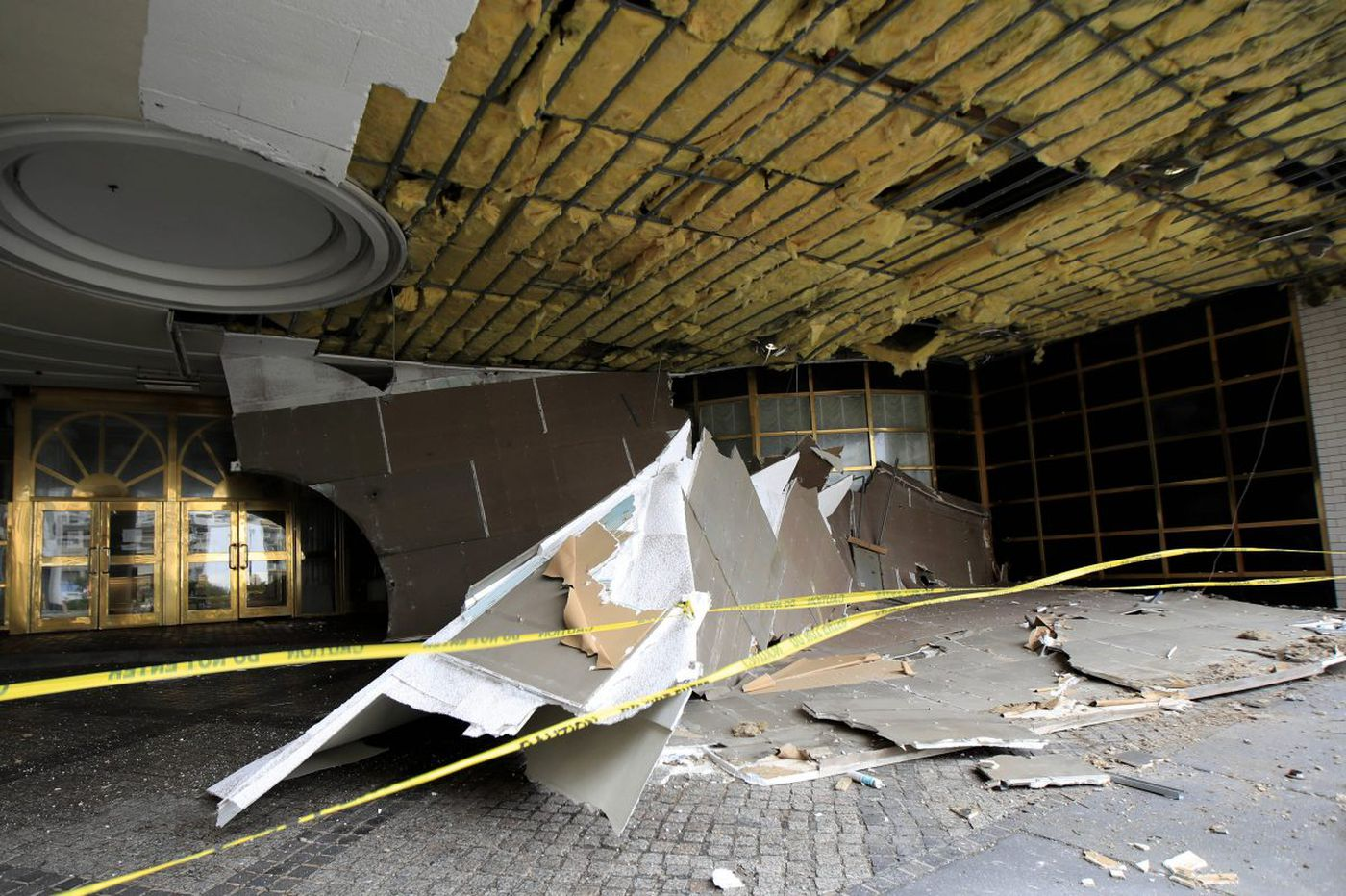 Ceiling collapses at Shore's long-closed Atlantic Club
