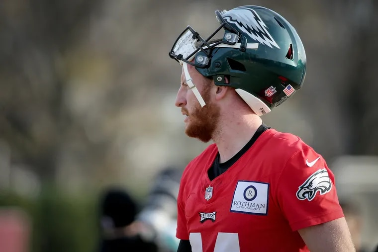 Carson Wentz is still the Eagles' starting quarterback. It just took a while for Doug Pederson to make that clear on Wednesday.