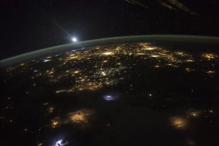 This Aug. 10, 2015 photo made available by NASA shows a sunrise from the vantage point of the International Space Station, about 220 miles above the surface of the Earth.