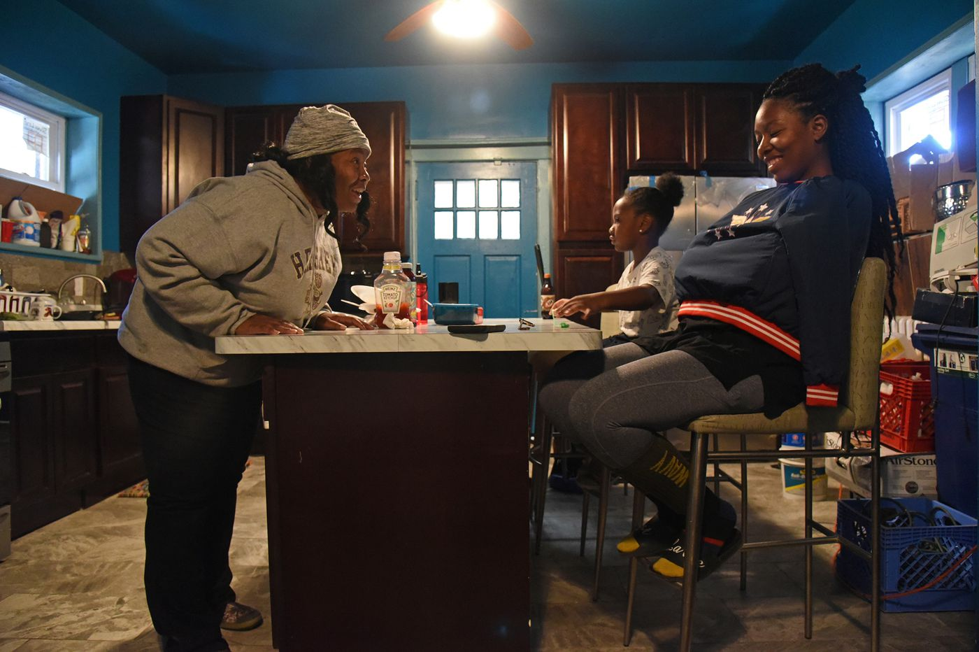 She overcame her father's abuse. Now she has a new home for her children.
