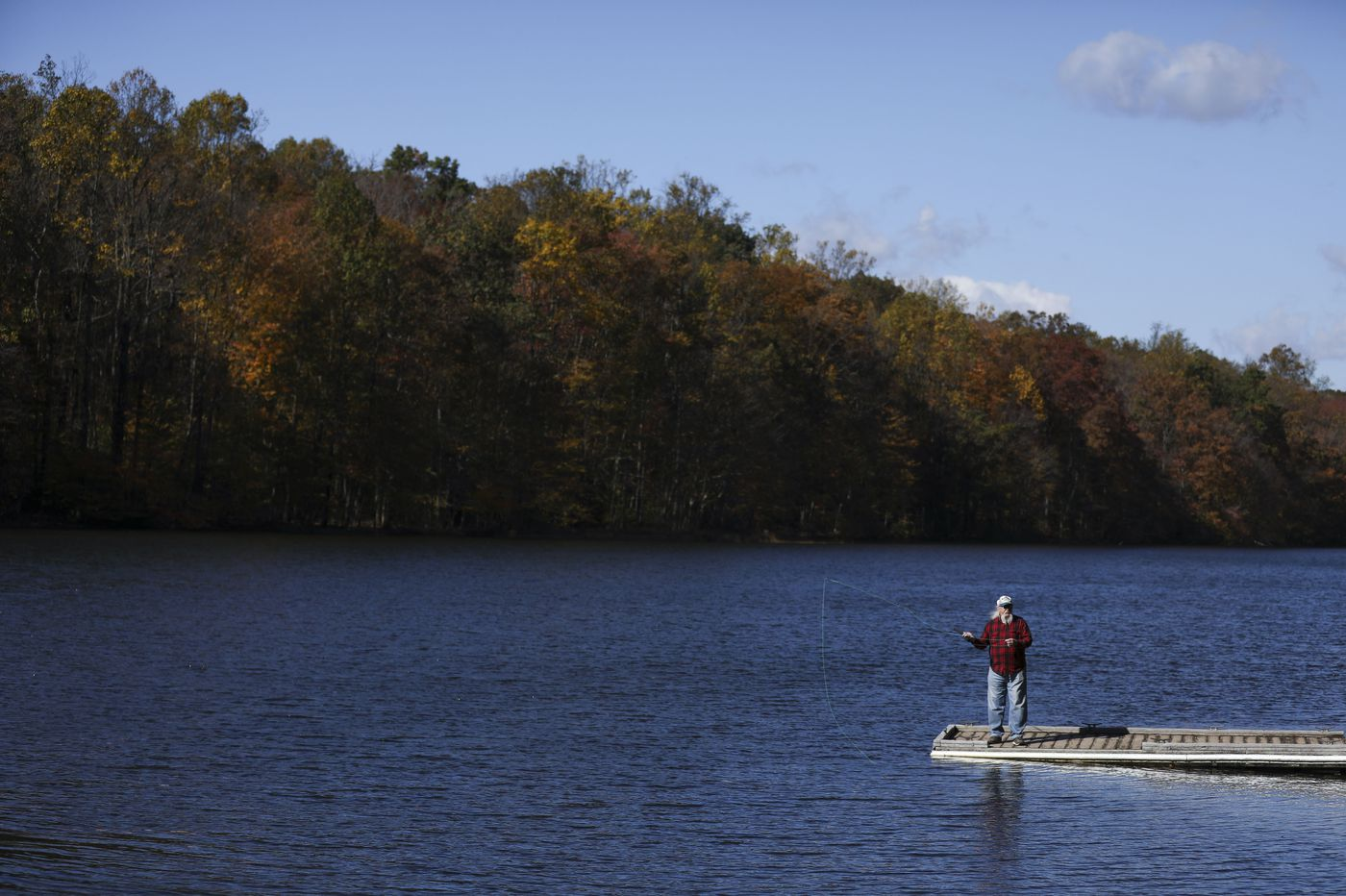 Poconos fall foliage is hitting its peak, to the relief of businesses hurting from COVID-19 restrictions