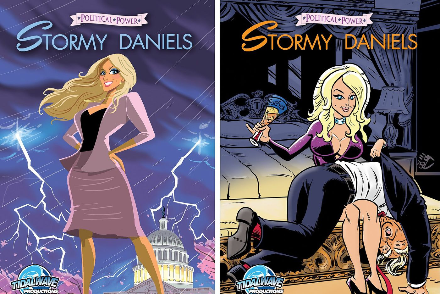 Stormy Daniels gets comic book treatment from Philly artist