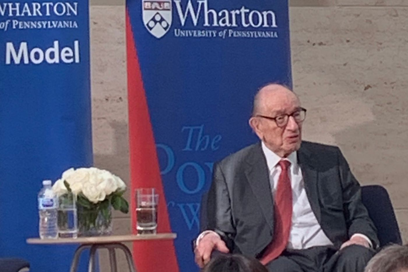 At Wharton, ex-Fed boss Alan Greenspan, 93, urges more immigration and less Social Security, and tells why China still trails