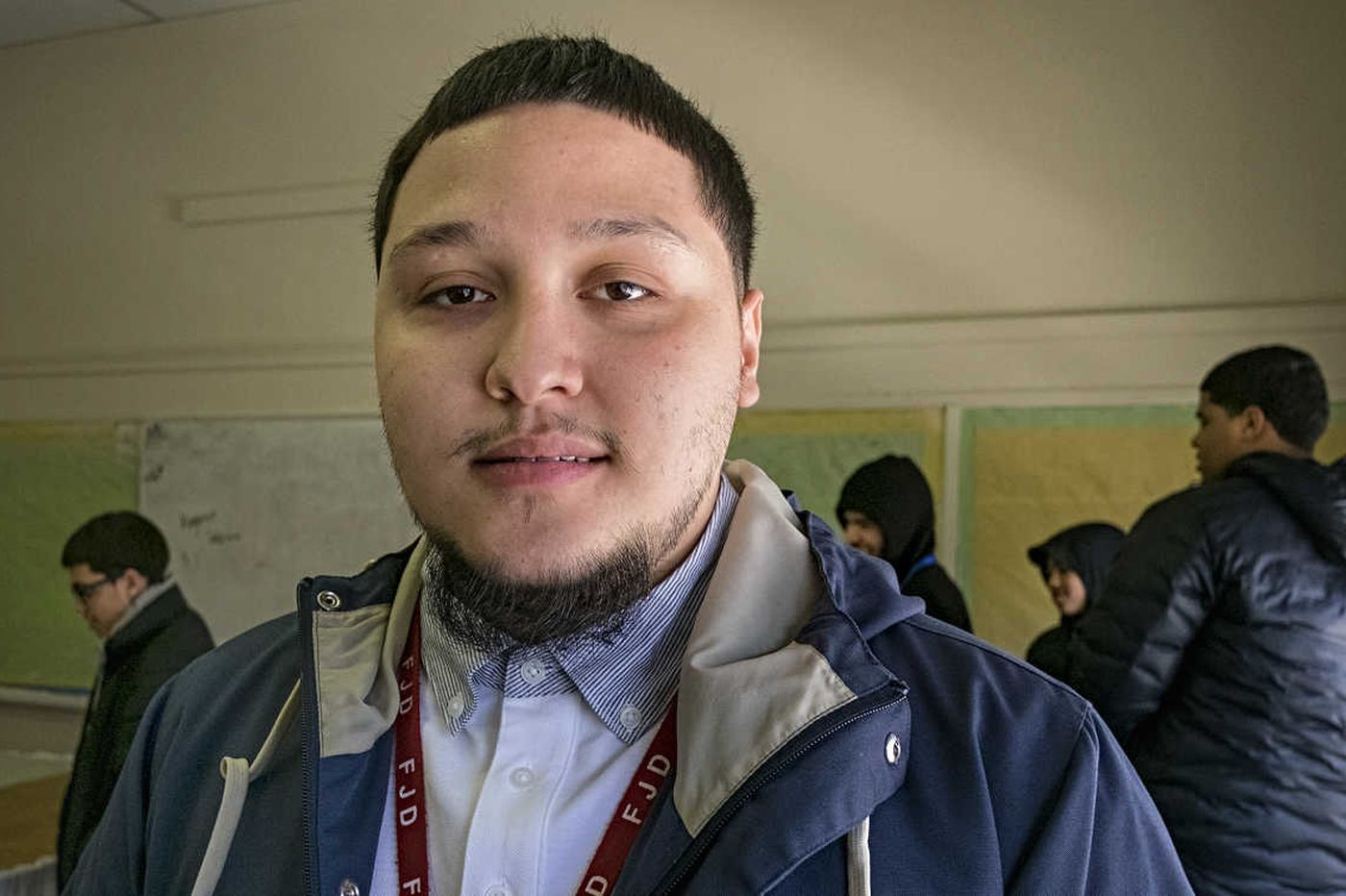 Once marked for a street life, he dreams of being a Philly cop