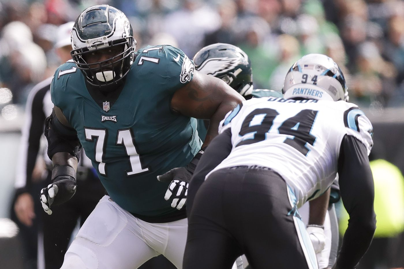 Eagles' Jason Peters avoids major injury; Tim Jernigan to return to practice after missing game with back spasms