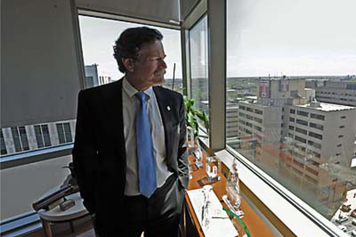 Growth is CEO's diagnosis for Temple health system