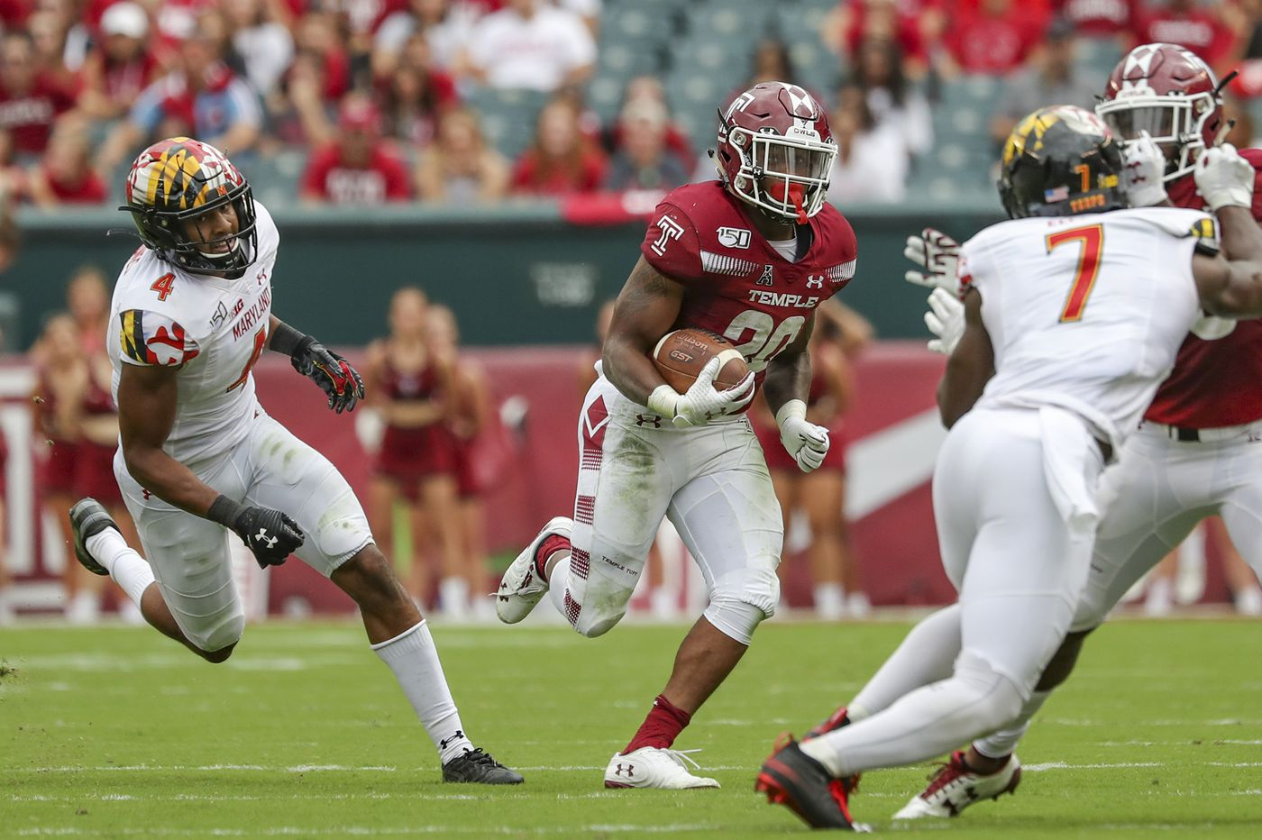 Temple's Re'Mahn Davis talks Heisman Trophy and improvement over last season's performance