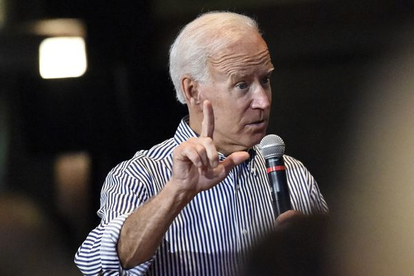 About that poll showing Joe Biden slipping? Maybe not.