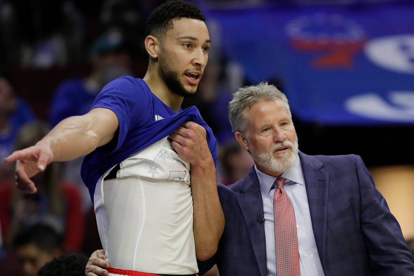 Ben Simmons took a legitimate, in-game three-pointer, and the Sixers want more