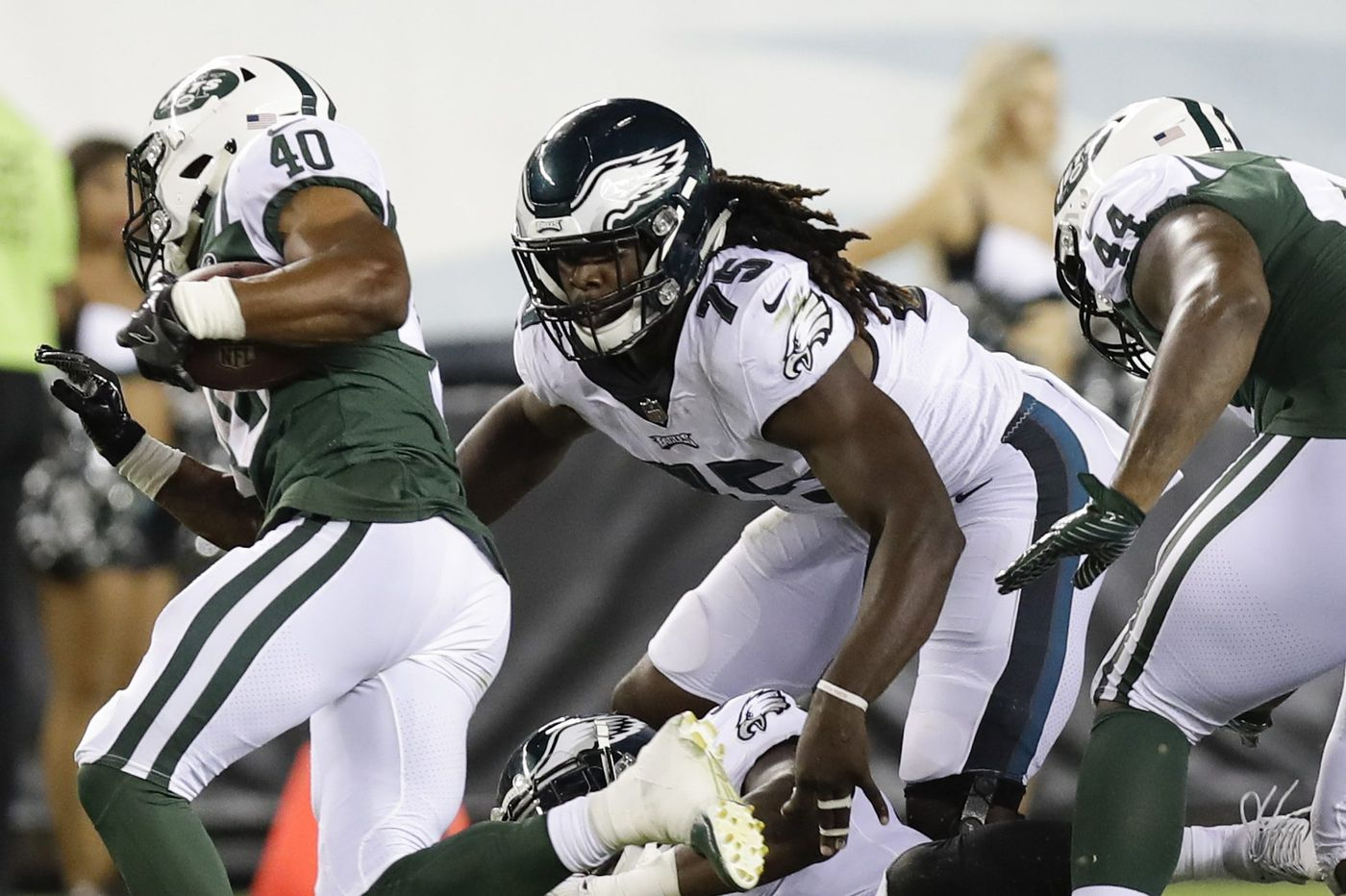 With Derek Barnett out, Eagles rookie Josh Sweat's chance has come
