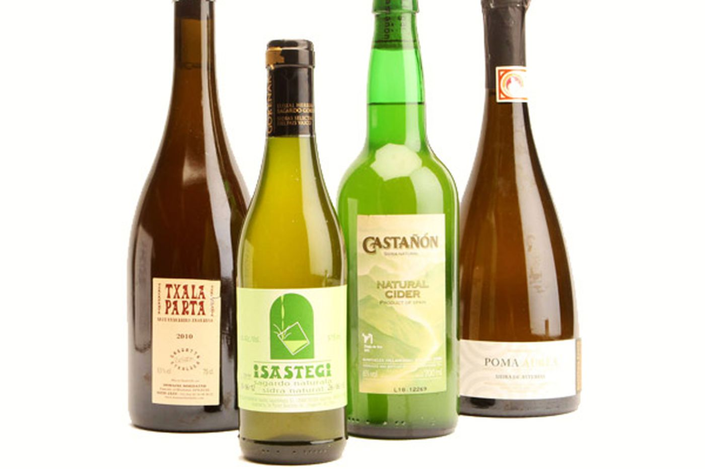 Ciders of the Basque country and Asturias