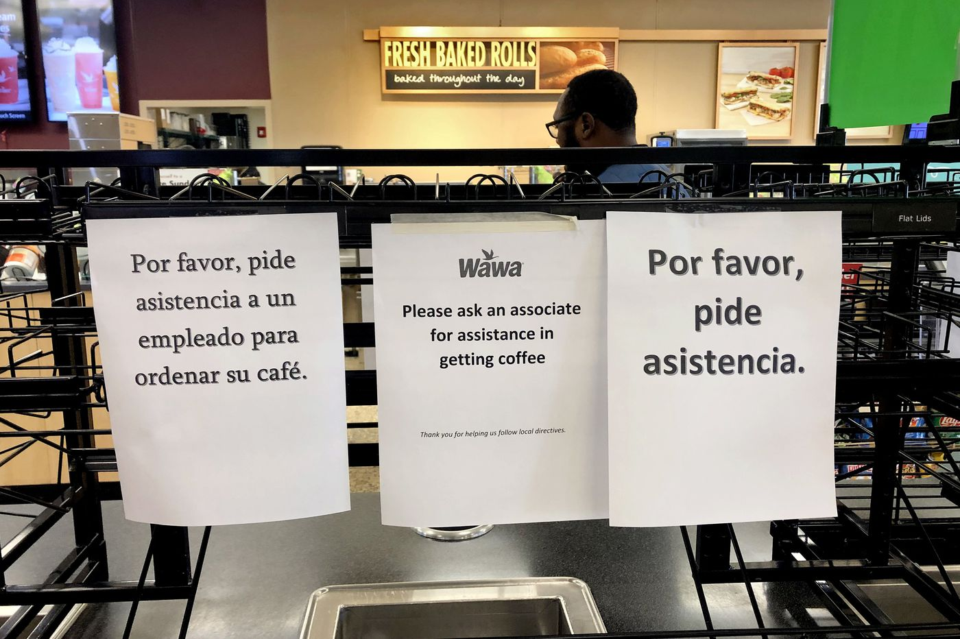 Wawa reinstates self-serve coffee at several stores, including in South Jersey, amid coronavirus pandemic