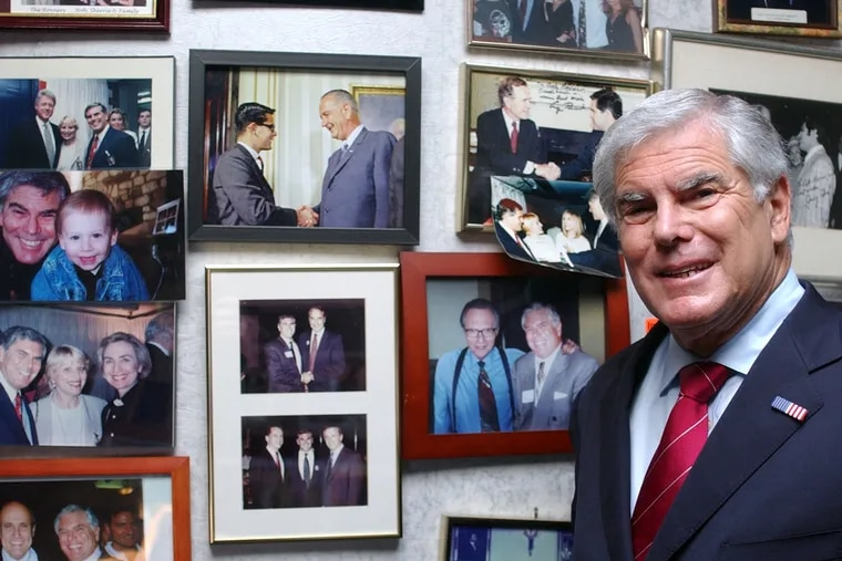 Sen. Rovner knew and worked with many politicians and celebrities over the course of his long career.