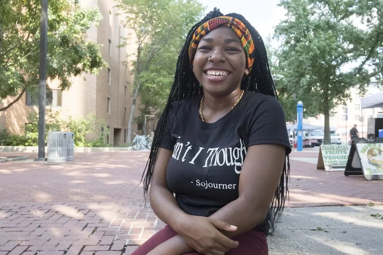 India Fenner, 19, is organizing a march for black women.