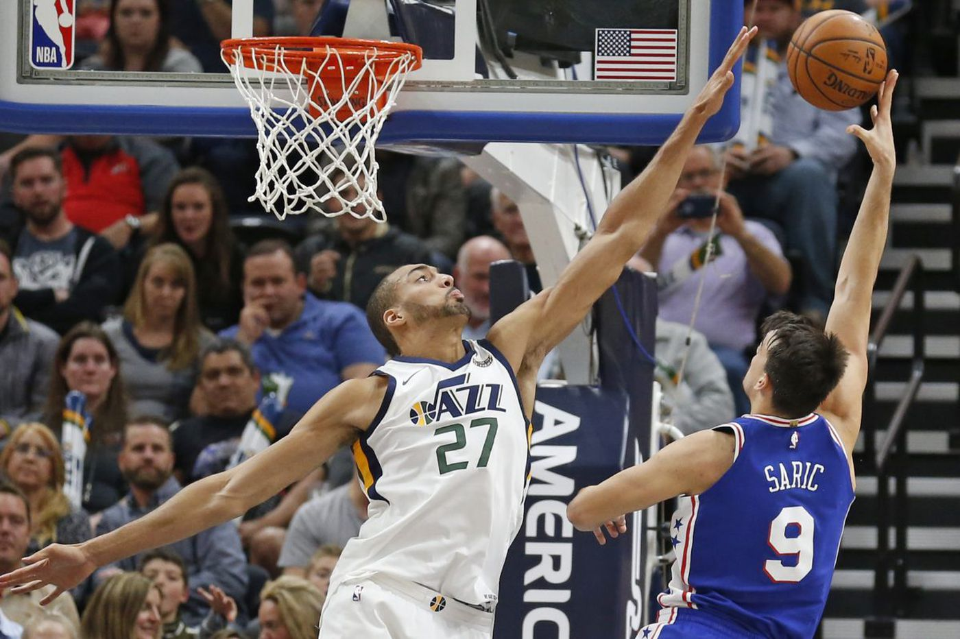 Sixers-Jazz: Dario Saric does it all, and other quick thoughts from a 104-97 win