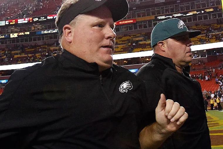 Eagles coach Chip Kelly. (David Maialetti/Staff Photographer)