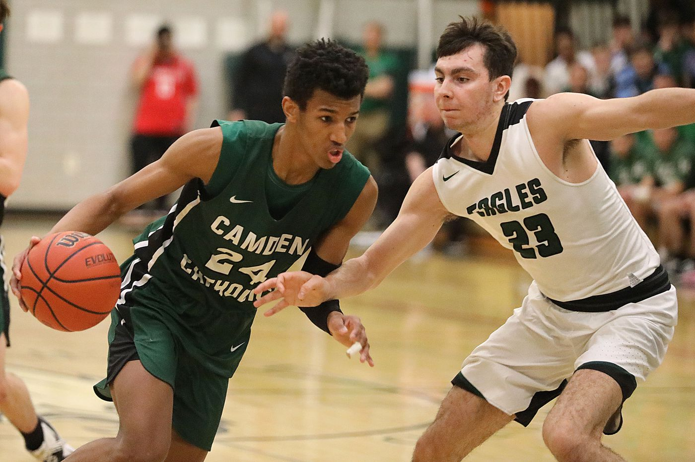 Camden Catholic boys shine in the third period to get past West Deptford
