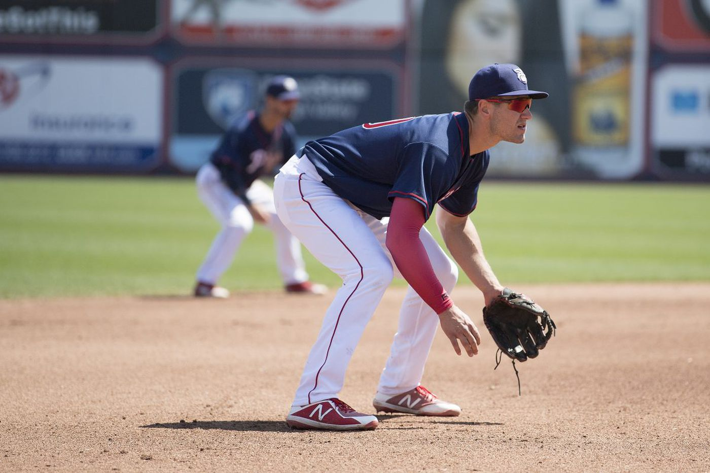 Mitch Walding finally answered his call to the Phillies