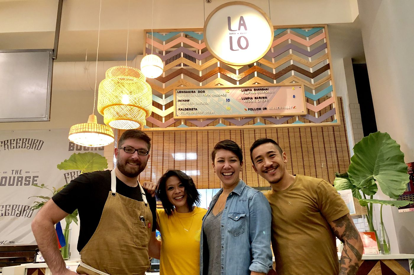 At LALO, a Philly Filipino connection boils down to a group of friends