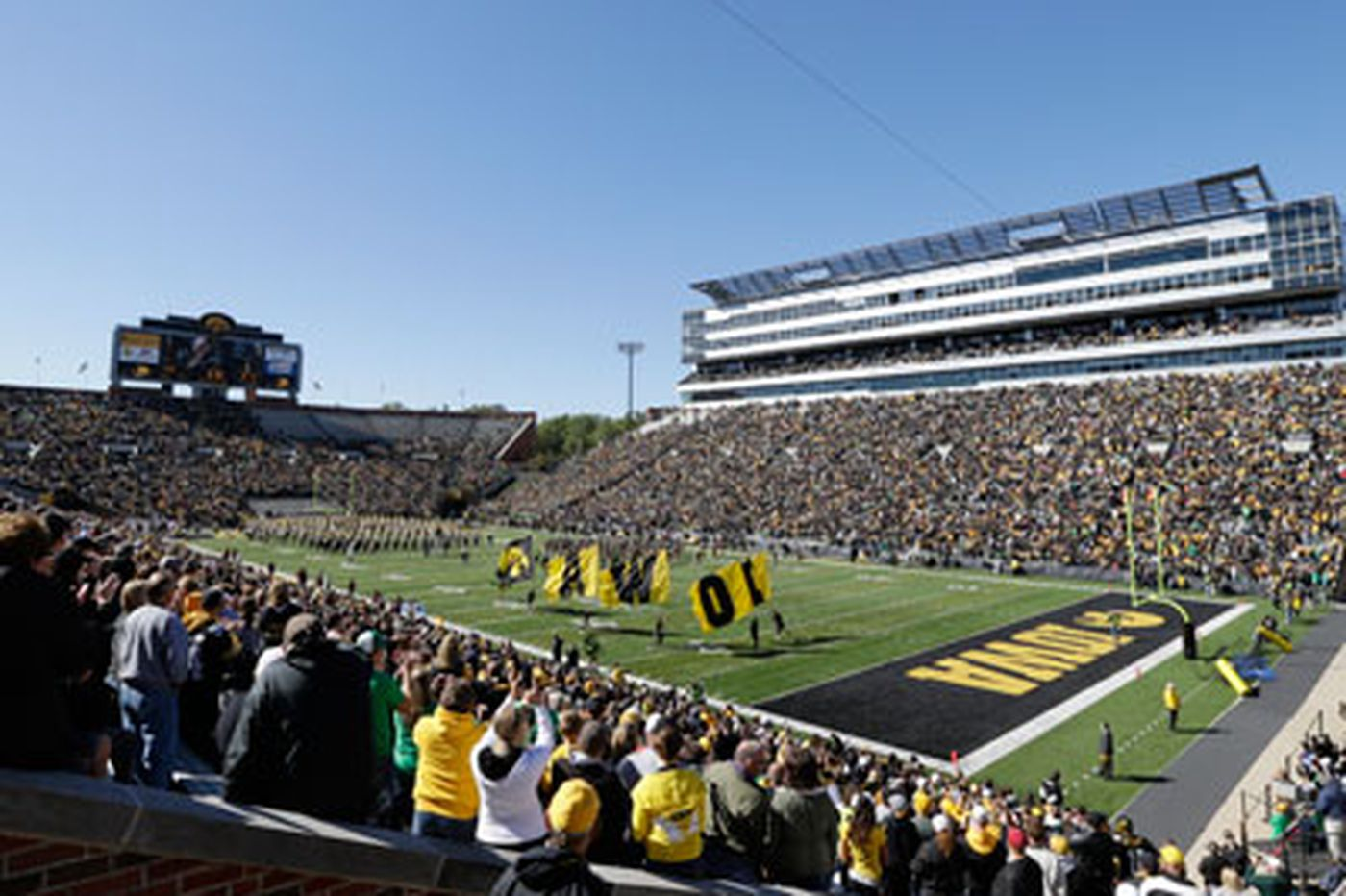 To Penn State, Iowa's Kinnick Stadium isn't the Big Ten's biggest, but it may be the loudest