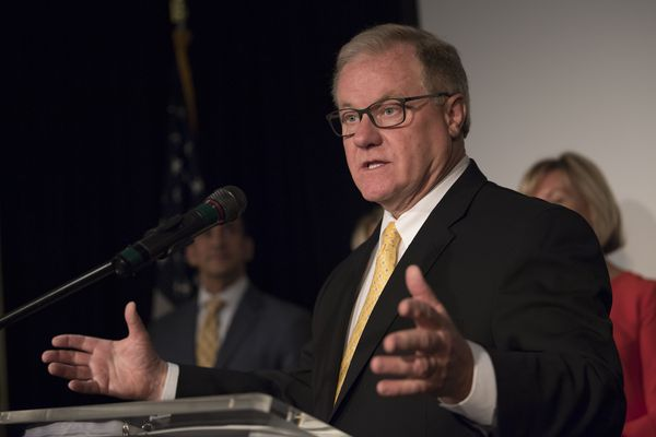 'What do you have to lose?' Republican Scott Wagner makes Philly pitch in Pa. governor's race