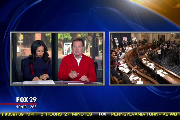 Why Fox 29 isn't airing the impeachment hearings live
