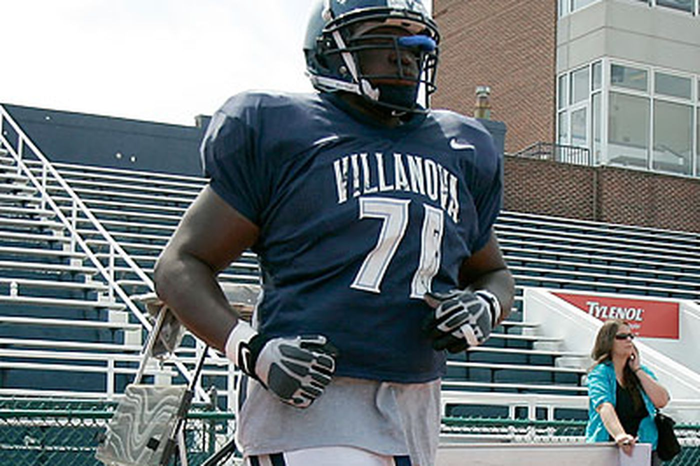 Villanova's Ijalana a possible draft pick for Eagles