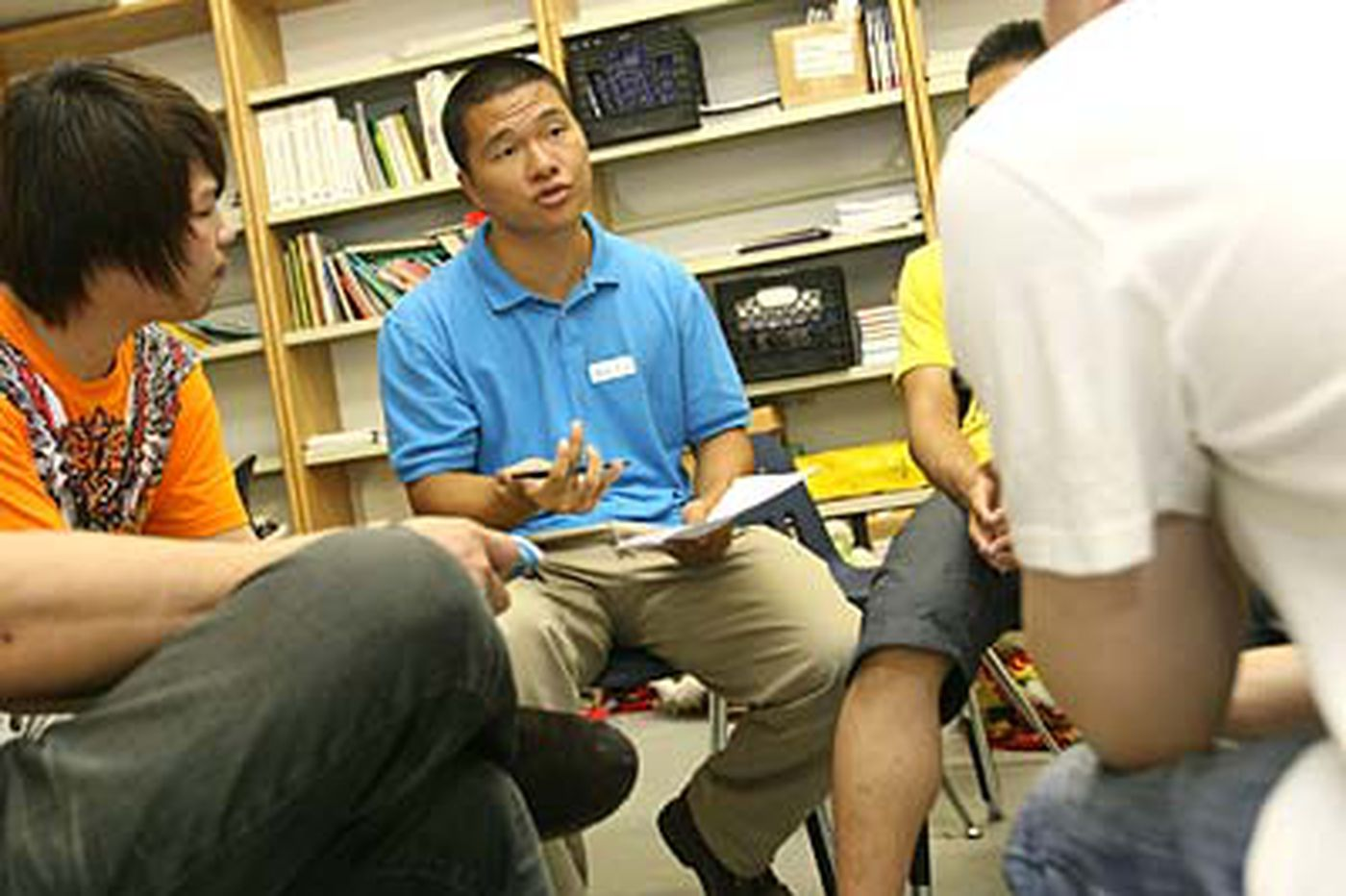 South Philadelphia High Asian students get safety instruction